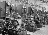 Automobiles. Testing of engines at the Renault car factory. Boulogne-Billancourt (France), 1931-1934. Photograph by François Kollar (1904-1979). Paris, Bibliothèque Forney. © François Kollar/Bibliothèque Forney/Roger-Viollet