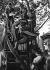 World War II. Madeleine-Bastille double decker bus, near the Paris Opera, on June 17, 1941. © LAPI/Roger-Viollet