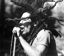 February 6, 1995: (75 years old) Birth of Bob Marley (1945-1981), Jamaican singer, guitarist and composer