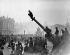 World War I. Crowds at Place de la Concorde upon the signing of the Armistice. Paris, November 11, 1918. © Roger-Viollet