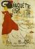 Jacques Villon (1875-1963). Guinguette Fleurie, La Fleur des Poètes Chansonniers Montmartrois (open air dance hall). Poster printed by Malfeyt. Lithograph, 1899. Paris, musée Carnavalet.  © Musée Carnavalet/Roger-Viollet