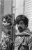 Lebanese Civil War (1975-1990). Fighters of the Al-Mourabitoun, independent Nasserite organization. Western districts of Beirut (Lebanon), January 1976. © Françoise Demulder / Roger-Viollet