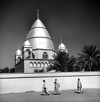 Mahdi mosque. Omdurman (Sudan), January 1966. © Roger-Viollet