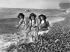 Children on the beach. Fécamp (France), 1909. © Ernest Roger / Roger-Viollet