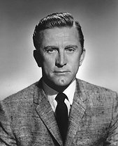 February 6, 2020: Death of Kirk Douglas (1916-2020), American actor, producer, director and writer at the age of 103. © Roger-Viollet