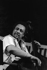 Festival de jazz de Nice, Charles Mingus (contrebassiste). Nice (Alpes-Maritimes), 1972. © Gérard Amsellem / Roger-Viollet