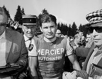 Raymond Poulidor (1936-2019), French racing cyclist, around 1965. © Roger-Viollet