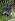 """Vue du jardin du musée Zadkine, """"La forêt humaine"""", bronze, 1957-1958. Paris (VIème arr.), 2008. © Eric Emo/Musée Zadkine/Roger-Viollet"""