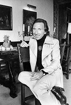 Ted Lapidus (1929-2008), French fashion designer. France, on September 8, 1972.  © Jean-Régis Roustan / Roger-Viollet