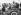 Guerre 1939-1945. Winston Churchill (1874-1965), homme d'Etat britannique et Bernard Montgomery (1887-1976), commandant des forces terrestres alliées, en tournée près des plages normandes du débarquement. France, 12 juin 1944. © TopFoto / Roger-Viollet