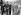 Maurice Herzog accueillant au Bourget les vainqueurs de l'Everest. De gauche à droite : A. Gregory, sir Edmund Hillary, Maurice Herzog, colonel J. Hunt, R. Herzog, président du CAF. 22 juillet 1953. © Roger-Viollet