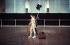 """Rudolf Noureïev (1938-1993), danseur russe, lors de répétitions pour """"La Bayadère"""", ballet de Marius Petipa sur une musique de Léon Minkus. Londres (Angleterre), Royal Opera House, 24 février 1982.  © Darryl Williams/TopFoto/Roger-Viollet"""