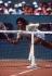 Internationaux de France de Roland-Garros. Yannick Noah (né en 1960), remporte Roland-Garros. Paris, 1983. © TopFoto / Roger-Viollet