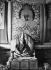 Tenzin Gyatso (né en 1935), 14ème Dalaï-lama et chef religieux des Tibétains. Chine. Photo : Bosshard. © Bosshard / Ullstein Bild / Roger-Viollet