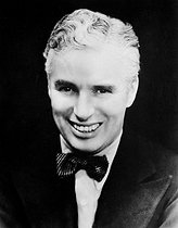 Charlie Chaplin (1889-1977), actor and English director.     © Roger-Viollet