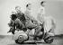"""""""Vacances romaines"""" (Roman Holiday), film de William Wyler. Gregory Peck et Audrey Hepburn. Etats-Unis, 1953. © TopFoto / Roger-Viollet"""