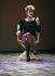 Sylvie Joly (1934-2015), actrice et humoriste française. France, octobre 1987. © Roger-Viollet