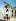 Guerre 1939-1945. Religieuses et une famille devant les ruines de l´église catholique Saint-Malo bombardée par les Alliés. Valognes (Manche), 1944. © Bilderwelt / Roger-Viollet