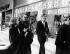 Robert Boulin case. The Boulin family: Colette Boulin (wife), Bertrand Boulin (son), Fabienne Boulin-Burgeat (daughter) and Maitre Vergès. Versailles (France), on January 17, 1984. © Jean-Régis Roustan / Roger-Viollet