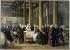 """Paul-Félix Guérie (1819-1895). """"L'impératrice Eugénie visitant les cholériques de l'Hôtel-Dieu"""". Esquisse du tableau d'Amiens. Château de Compiègne. © Roger-Viollet"""