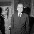 Graham Greene (1904-1991), English writer. Paris, théâtre Montparnasse, April 1956. © Boris Lipnitzki / Roger-Viollet
