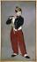 Edouard Manet (1832-1883). The fife-player. Oil on canvas, 1866. Paris, musée d'Orsay. © Roger-Viollet
