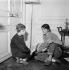 Annabel Buffet et Françoise Sagan, vers 1955.     © Roger-Viollet