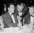 Errol Flynn (1909-1959) et Clark Gable (1901-1960), acteurs américains, vers 1955. © Roger-Viollet