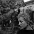 Annie Girardot (1931-2011), actrice française. Paris, Montmartre (18e arr.), vers 1955. © Gaston Paris / Roger-Viollet