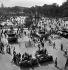 World War II. Liberation of Paris. Crowd at the place de la Concorde, on August 25, 1944. © Pierre Jahan/Roger-Viollet