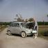Automobile Fiat 600 (1955-1969). Années 1960.  © Ray Halin/Roger-Viollet