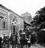 Exposition universelle de 1889, Paris. Entrée du pavillon de la Serbie. © Léon et Lévy/Roger-Viollet