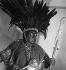 Paul Poiret (1879-1944), couturier et décorateur français. Paris, Bal nègre, mars 1927. © Boris Lipnitzki/Roger-Viollet