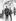 Audrey Hepburn et son époux Mel Ferrer, en vacances à Saint-Moritz (Suisse). © TopFoto / Roger-Viollet