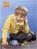 """Nadeau. """"Appareils Kodak film. Petit garçon au téléphone"""". Affiche, 1960. Paris, Bibliothèque Forney. © Bibliothèque Forney / Roger-Viollet"""
