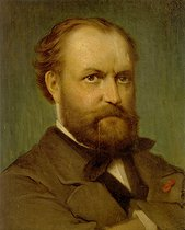 Charles Gounod (1818-1893), French composer. Naples (Italy), Music Academy of San Pietro a Maiella. © Roger-Viollet