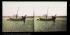 Fishing on the shore. Mont-Saint-Michel (France). Stereoscopic view. © Léon et Lévy / Roger-Viollet