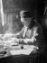 André Gide (1869-1951), French writer, rue Vaneau (Paris). © Laure Albin Guillot / Roger-Viollet