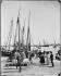 Fishermen back from fishing. Lisbon (Portugal), circa 1900. © Léon et Lévy / Roger-Viollet