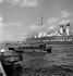 Bateaux dans le port de La Havane. Cuba, mars 1959.  © Roger-Viollet
