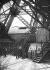 1900 World Fair in Paris. Elevator on the first floor of the Eiffel Tower © Neurdein / Roger-Viollet