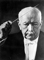 Richard Strauss (1864-1949), German composer and conductor. © Roger-Viollet