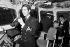 """Le prince Charles (né en 1948), servant en tant que sous-lieutenant à bord de la frégate """"Minerva"""", peu avant son départ pour une mission au large de l'Inde. Devonport (Angleterre), 12 février 1973. © PA Archive/Roger-Viollet"""