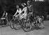 Elegance Day on a bicycle. Paris, June 1942.  © LAPI/Roger-Viollet