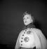 """Jeanne Boitel dans """"L'Aiglon"""" d'Edmond Rostand. Gala donné pour l'érection de la statue de l'écrivain, à Cambo. Paris, théâtre du Châtelet, 1949. © Studio Lipnitzki/Roger-Viollet"""