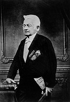 Adolphe Thiers (1797-1877), president of the French republic from 1871 to 1873. © Roger-Viollet