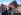 Réfugiés et demandeurs d'asile nourris par des organisations caritatives, suite à la fermeture du camp de réfugiés de Sangatte. Calais (Nord-Pas-de-Calais). © TopFoto / Roger-Viollet