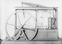 James Watt's steam engine. Paris, Conservatoire des Arts et Métiers.   © Jacques Boyer / Roger-Viollet