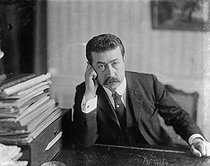Paul Painlevé (1863-1933), French politician and mathematician. © Maurice-Louis Branger / Roger-Viollet