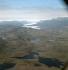 """Vue aérienne de Brattahlid, colonie fondée par Eirikr Thorvaldson dit """"le Rouge"""" (vers 940-vers 1010) au Groenland. © Werner Forman/TopFoto/Roger-Viollet"""
